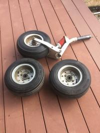 ad listing Jabiru J 160 wheels Rims and Nose leg thumbnail
