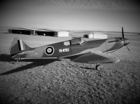 ad listing SUPERMARINE SPITFIRE 2/3 scale replica thumbnail
